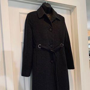 Via Spiga Wool and Cashmere Winter Coat